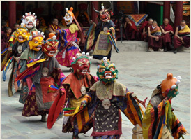 Hemis Festival - Witness the Colors of Ladakh